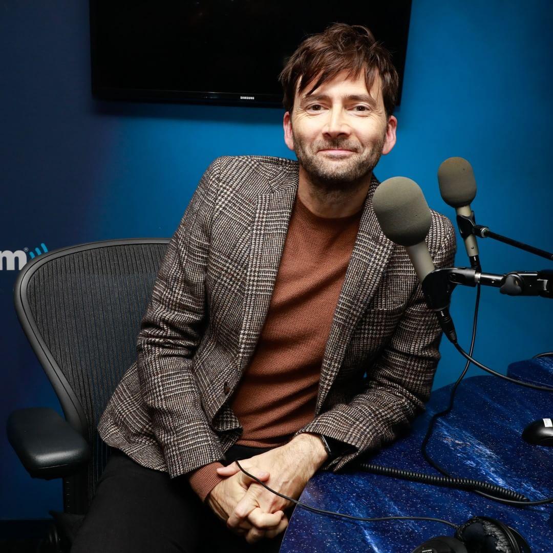 David Tennant at Entertainment Weekly/Sirius Radio - Monday 8th October 2018