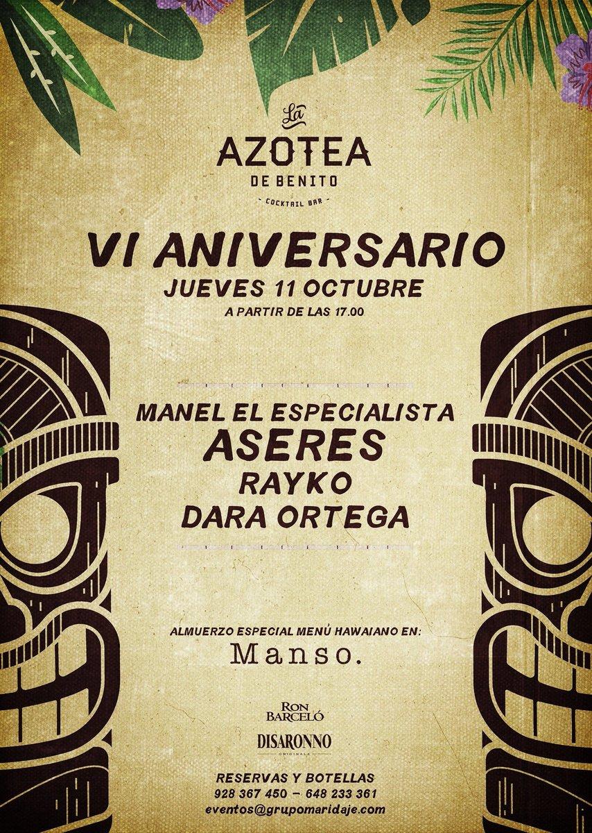 La Azotea De Benito On Twitter Este Jueves 11 De Octubre