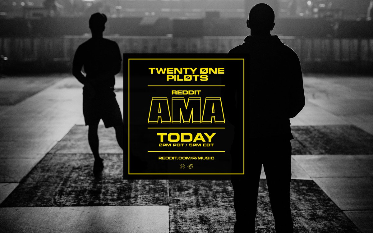 while we wait around to take the stage at the AMAs let's do an AMA but the AMA doesn't have to be about the AMAs.