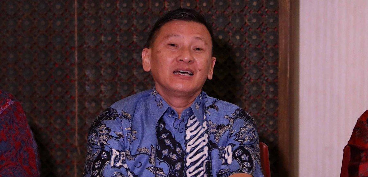 Kepala Pelatih Tunggal Putra Indonesia, Hendry Saputra.