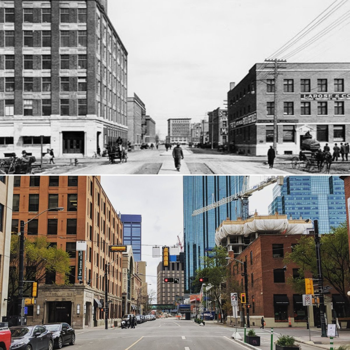 Time Travel On University Avenue >> Dan Rose On Twitter More Yegheritage Time Travel Fun 1912