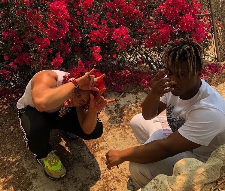 Trippie Redd confirms joint project with Juice WRLD is on the way  <br>http://pic.twitter.com/kKPaAAMSEc