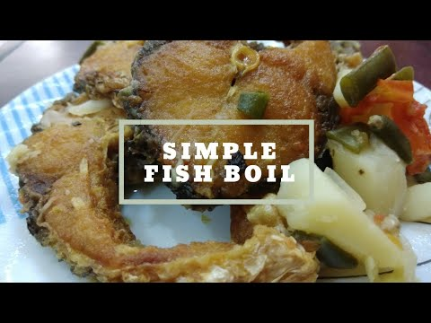 Best Boiled Fish Recipe /simple way to cook #FISH boil/ simple to cook and very healthy/ https://t.co/j4LMeLAsa5 https://t.co/U73s6aSFAh