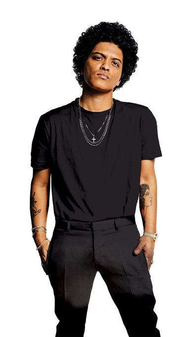 Wishing a very Happy Birthday to Bruno Mars. He turns 33 today.