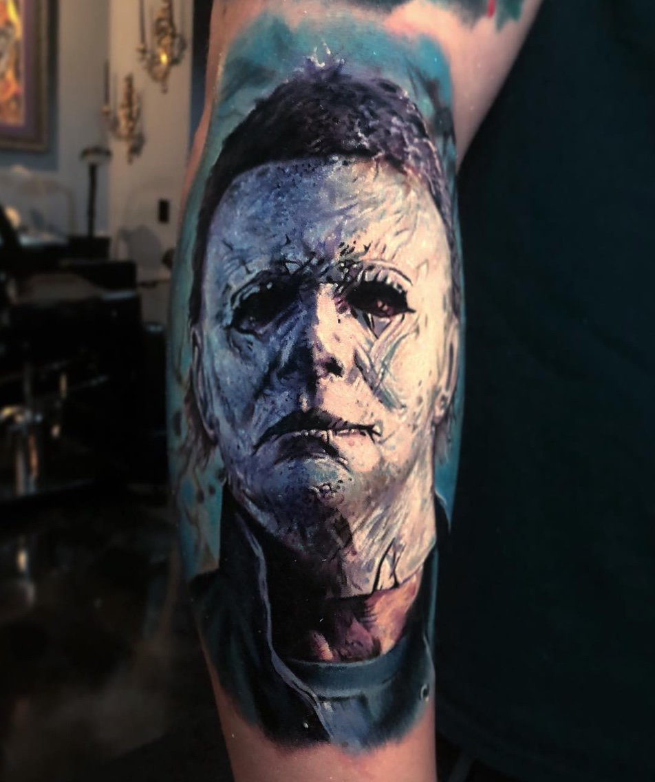 41be81e342f16 For fans of the #Halloween franchise, you can check out the new movie  coming out on October 19th! #painfulpleasures #tattoos #tattooedlife #inked  #inkedlife ...