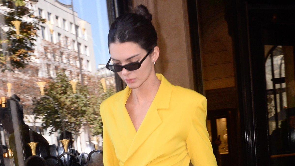 554c4e0c98 kendall jenner gives next season s signature shade a boss spin