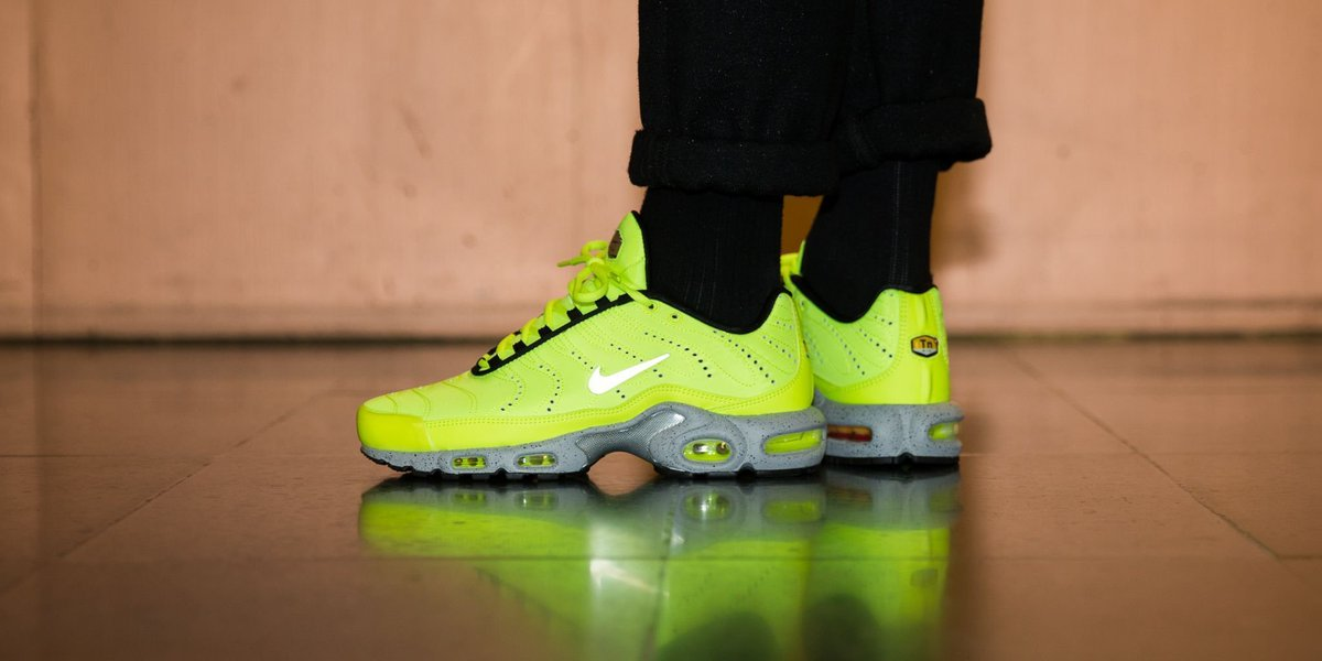 huge selection of 13254 6bc95 ... coupon code for titolo on twitter n e w i n nike air max plus premium  volt matte silver wolf