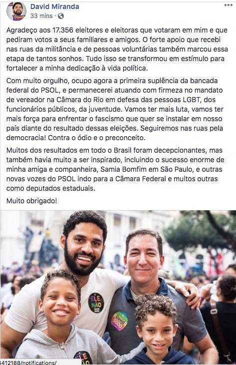 David Miranda (@davidmirandario) on Twitter photo 09/10/2018 02:01:07
