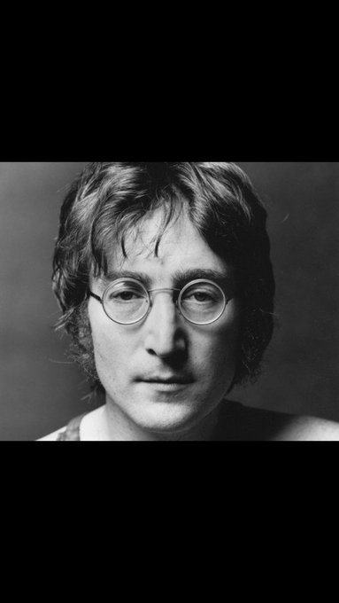 Happy birthday my hero. John Lennon.
