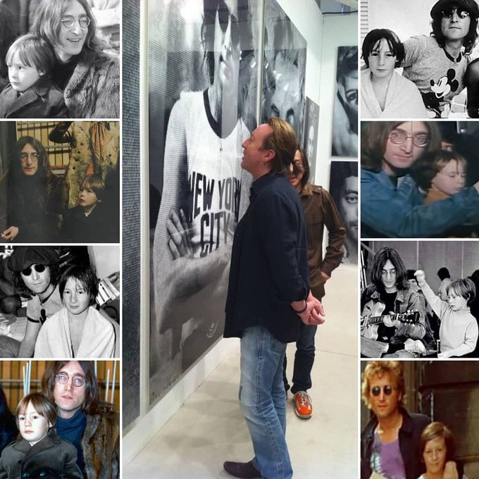 HAPPY BIRTHDAY John Lennon and HAPPY BIRTHDAY to Sean Lennon
