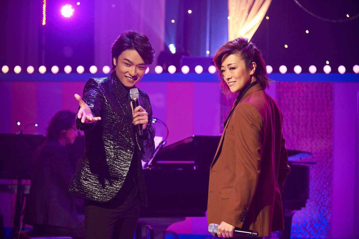 グリブラ 第18話歌コーナーの思い出井上芳雄 さんと 北翔海莉 さんのスピード感のあるスペシャルなデ