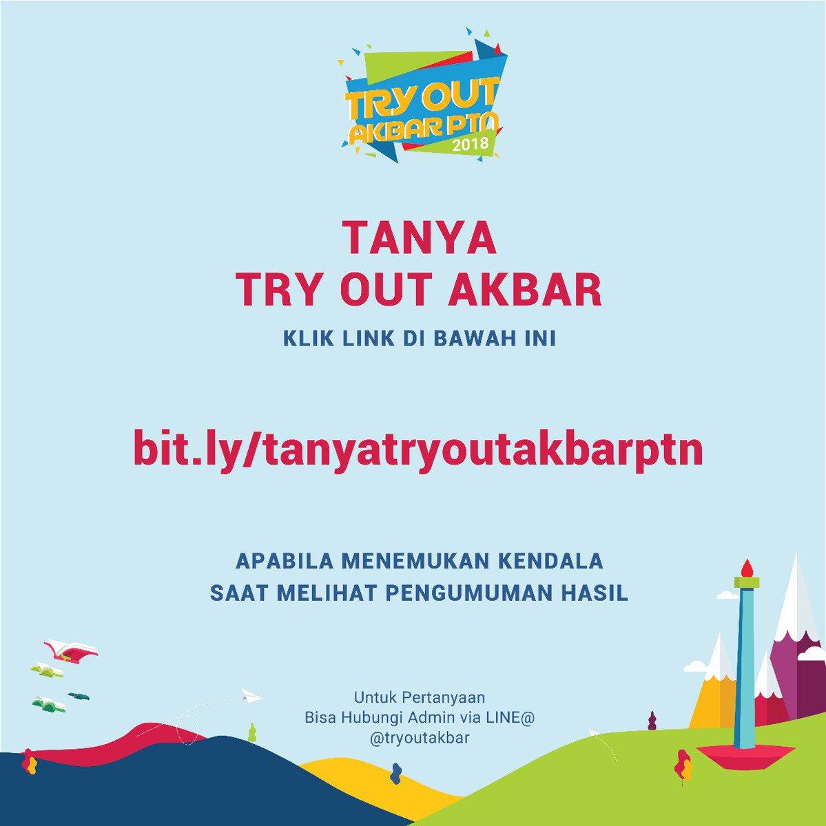 2Tnoz try out akbar ptn 2018 (@tryoutakbarptn)   twitter