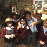 4M are having a great time at Colchester Castle!