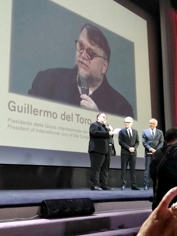 Happy Birthday from Italy, Guillermo del Toro