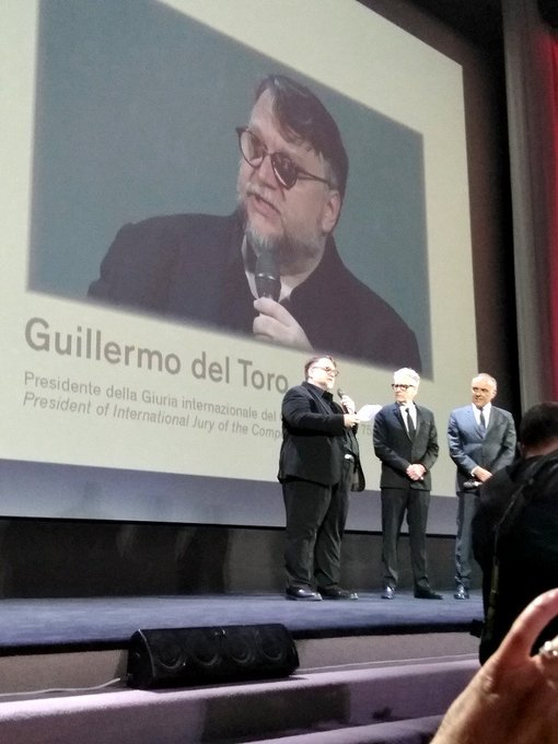 Happy Birthday from Italy, Guillermo del Toro