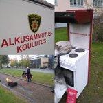 Image for the Tweet beginning: Turvallisuusviikolla opetellaan sammuttamaan tulipaloja @hameenlinnan_vpk