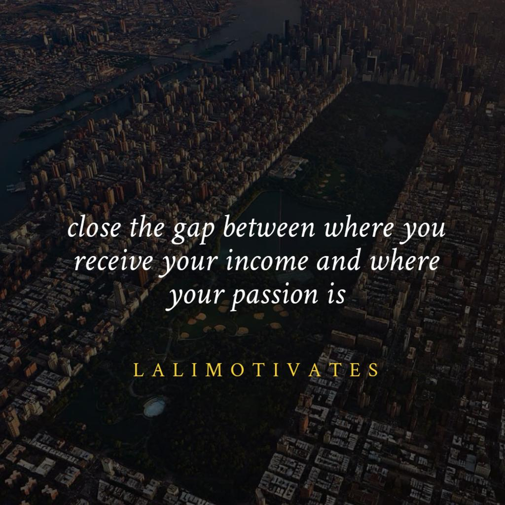 Try your best to generate income from where your passion is, in that sense you wouldn't have to work a day in your life. #Financial #work #tips #wealth #salary #lalimotivates #startups #business<br>http://pic.twitter.com/E6iIqtMZP4