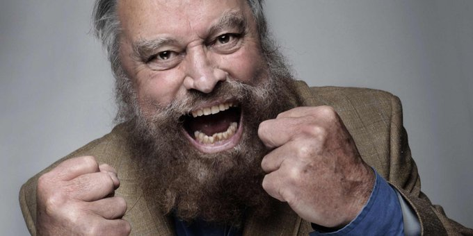 Happy Birthday Brian Blessed, born this day in 1936.
