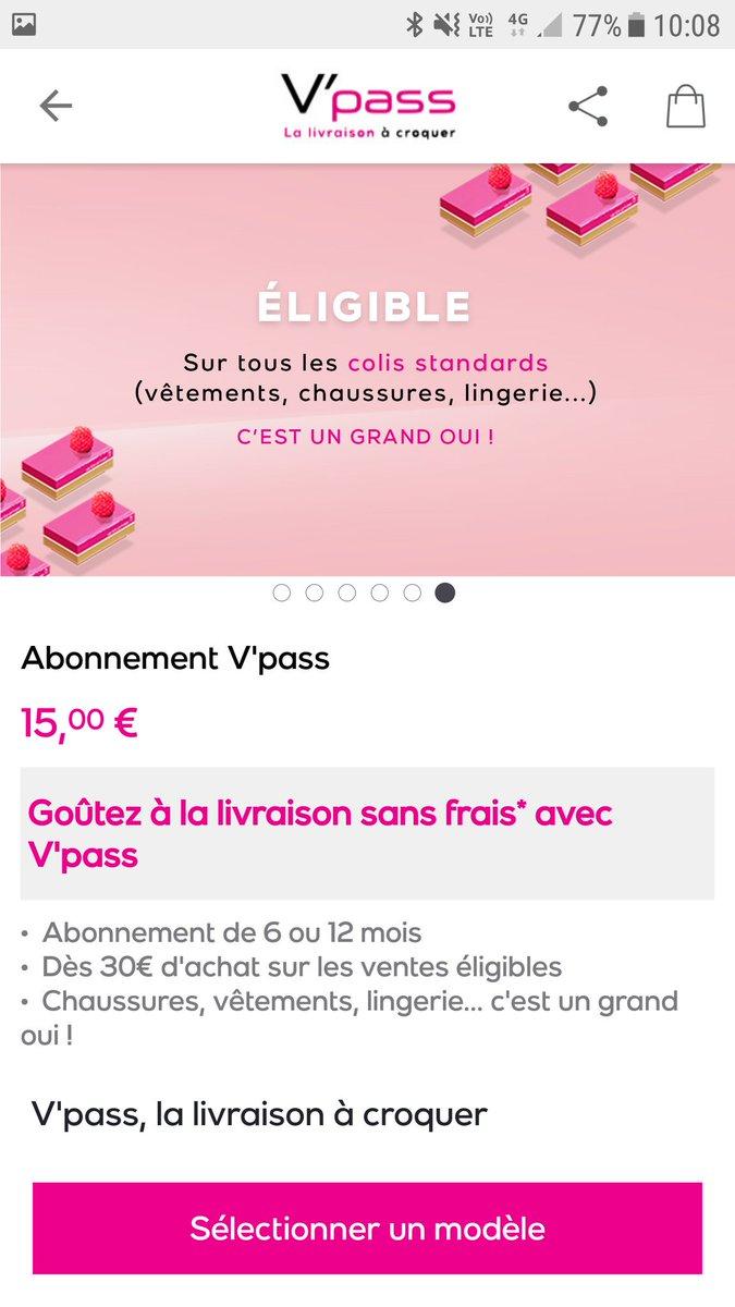 Depuis hier  venteprivee fr fait la promotion de  Vpass son abonnement à la   livraison. Toutes les ventes ne sont pas éligibles en revanche  logistique  ... 87c84fcdf60