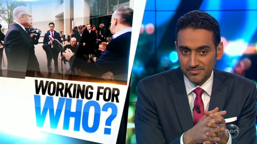 In the wake of the Opera House controversy, Waleed asks – who are your politicians really working for? #TheProjectTV