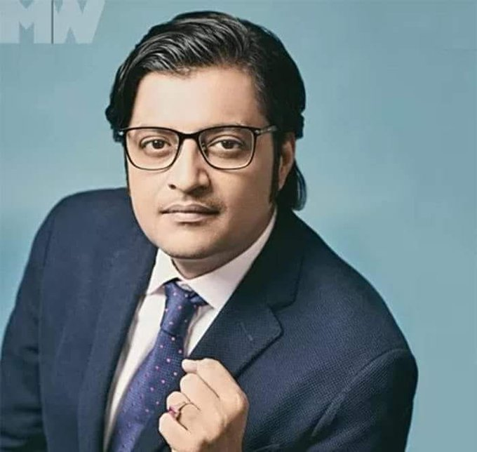 Happy Birthday to an extremely outspoken personality on TV... Arnab Goswami.