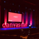 Image for the Tweet beginning: The #CanvasCon started today in