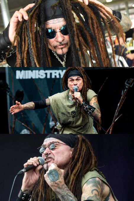 Happy 60th bday legendary Uncle Al Jourgensen from my fav