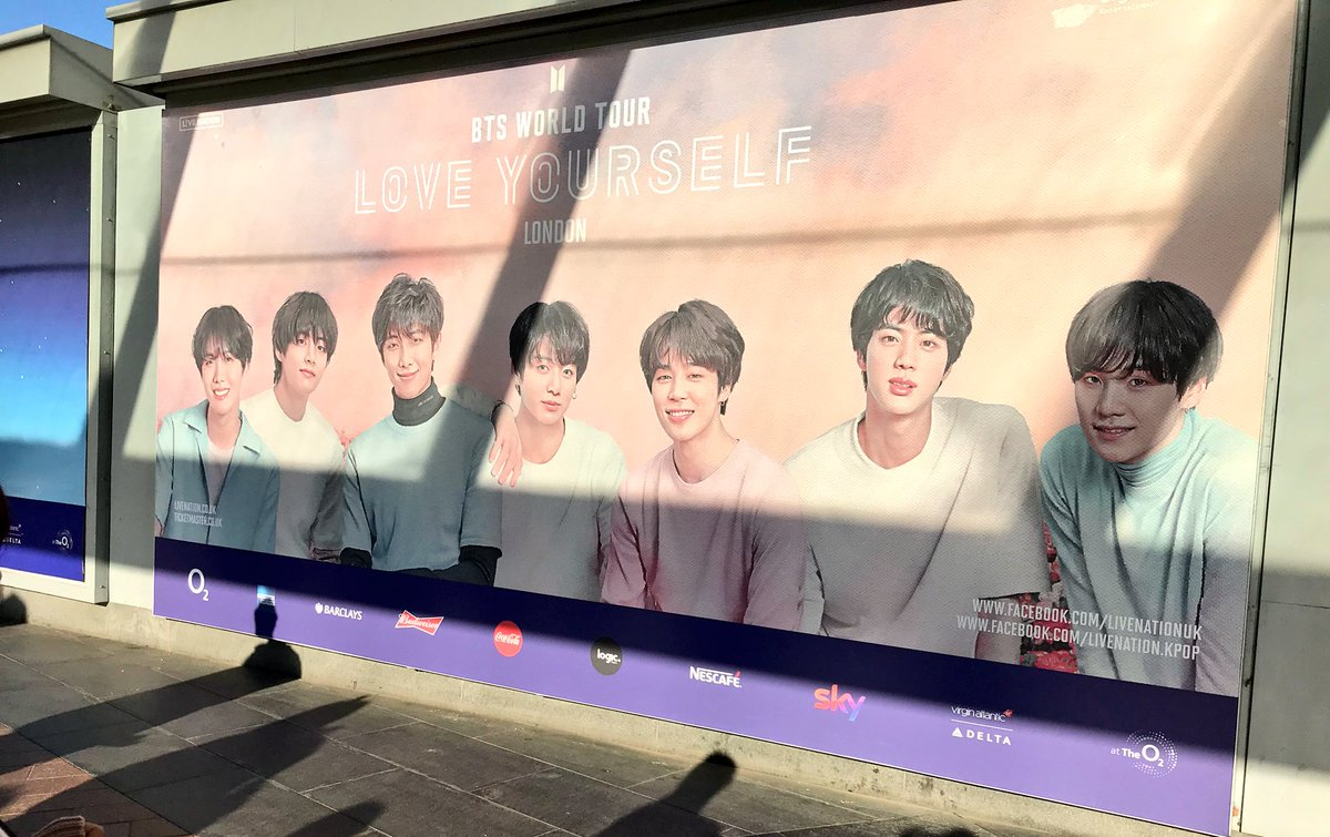 Today's the day. @BTS_twt are in London. We are so excited to have you here. #BTSLoveYourselfTour #BTSLondon