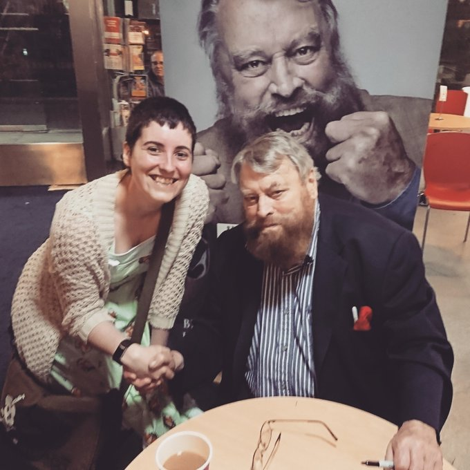 Brian Blessed is 82 years old today. Happy Birthday, you legend!!!!