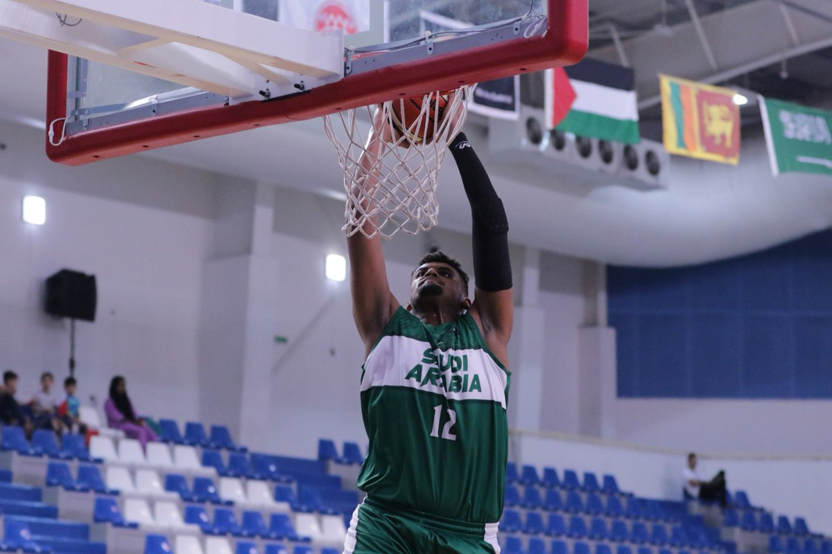 #MohammedAlSuwailem was 1️⃣ of 2️⃣ at the #FIBAAsiaCup GBA Pre-Qualifier to average a double-double. Talk about #MondayMotivation right there ❗️@sbf1963 🇸🇦