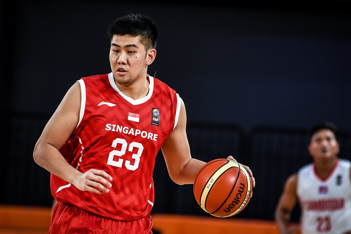 #Singapore🇸🇬 s #DelvinGoh s average per game at the #FIBAAsiaCup SEABA Pre-Qualifier: 14 points, 13.5 rebounds, & 2.8 assists.