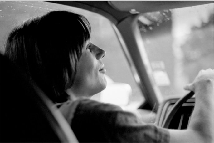 Happy 70th birthday, Jackson Browne! Jackson Browne cruising the street, 1972 Photo: Graham Nash