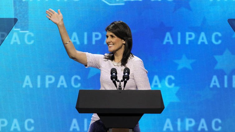 We appreciate the strong leadership of @nikkihaley@USUN. Thank you for consistently standing up for America's interests and our democratic ally Israel.