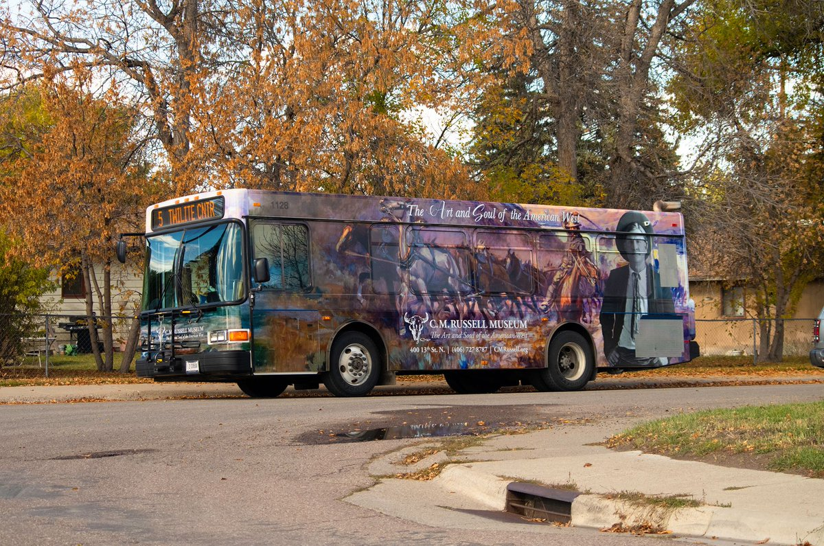 Great Falls Transit >> C M Russell Museum On Twitter Keep Your Eye Out For