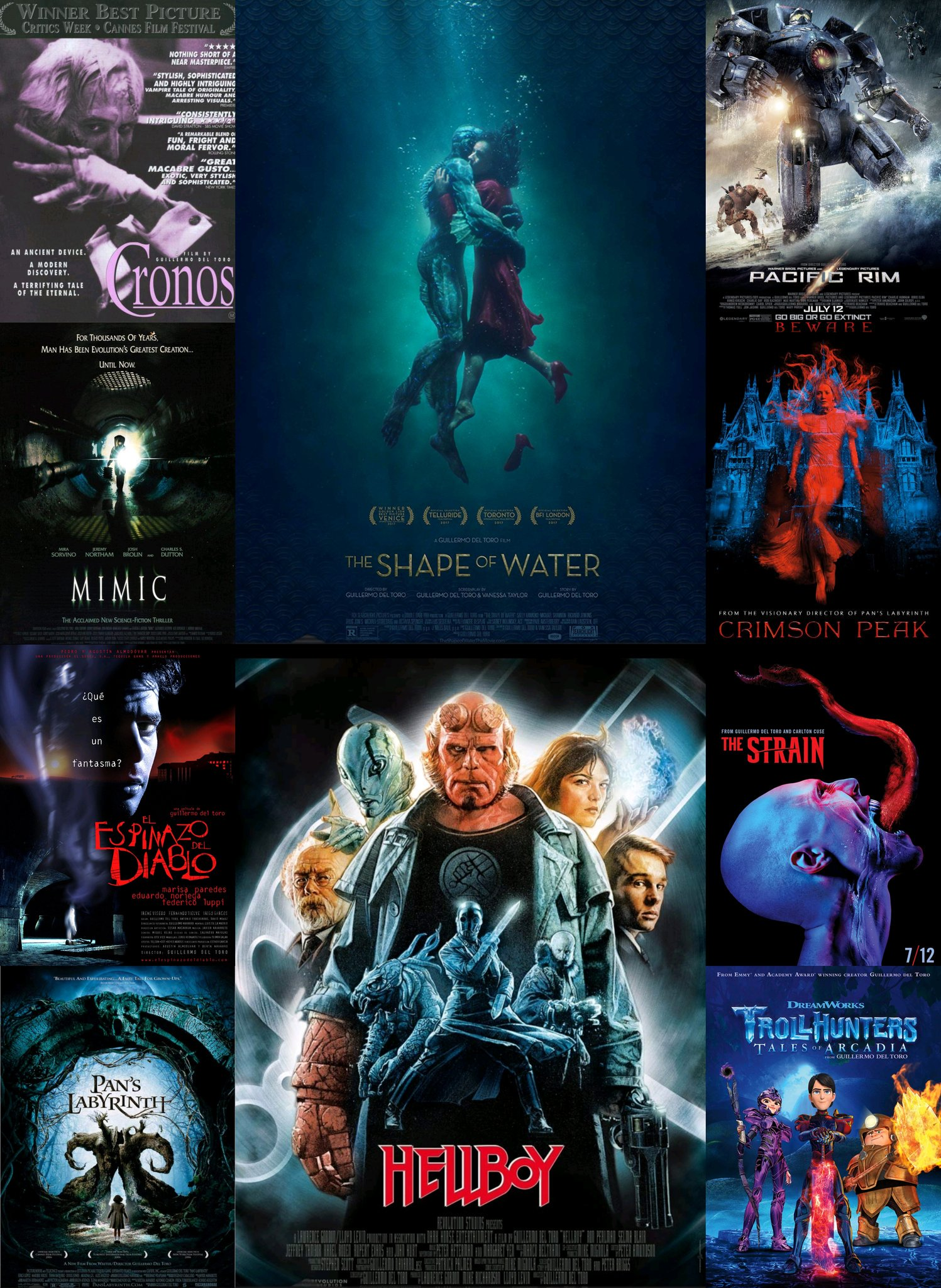 ¡Happy Birthday Guillermo del Toro!