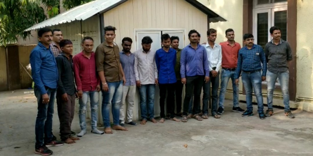 10 including Thakor Sena social media convener arrested for hate content on Facebook