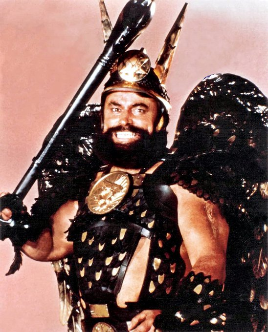 Wishing the inimitable Brian Blessed a very happy 82nd birthday!