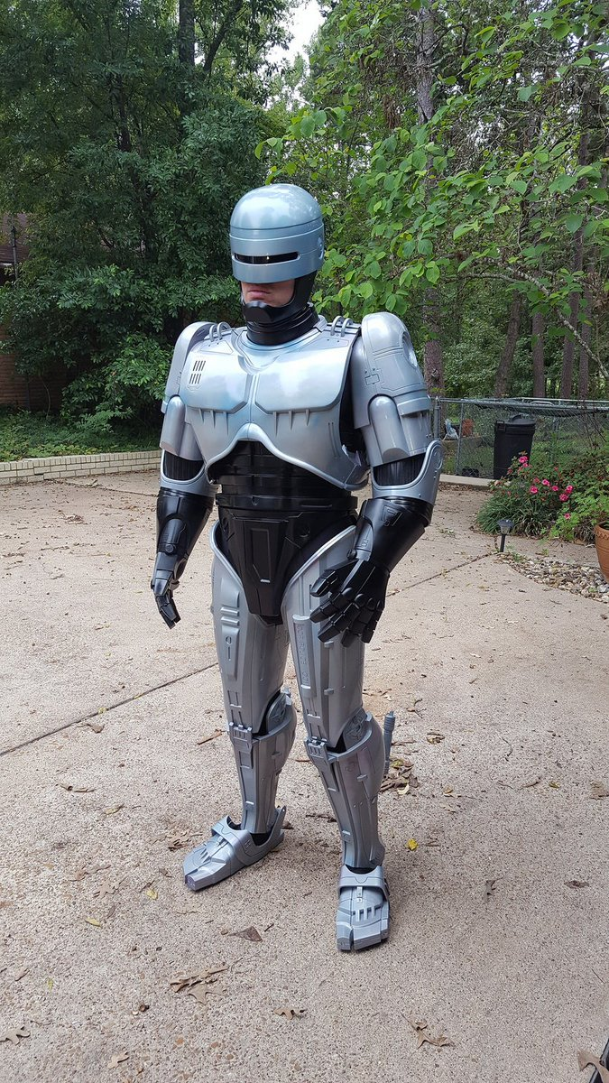 The Rpf On Twitter 3d Printed Robocop Suit By Pchrisbosh1 Thread