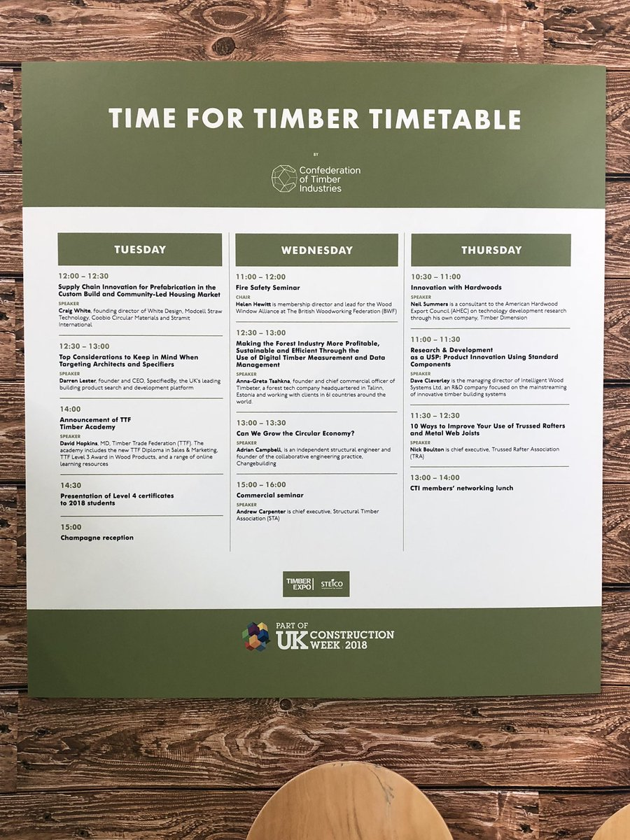 Structural Timber on Twitter: