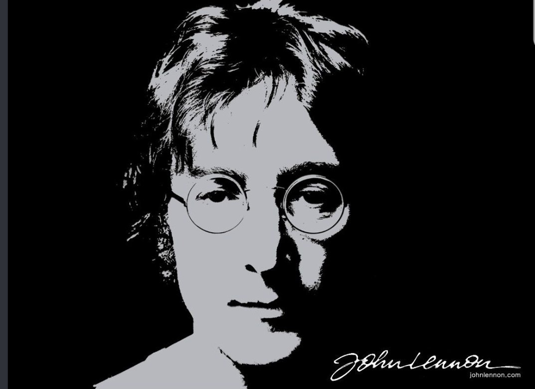 Gone but the music lives on.   Happy Birthday John Lennon.