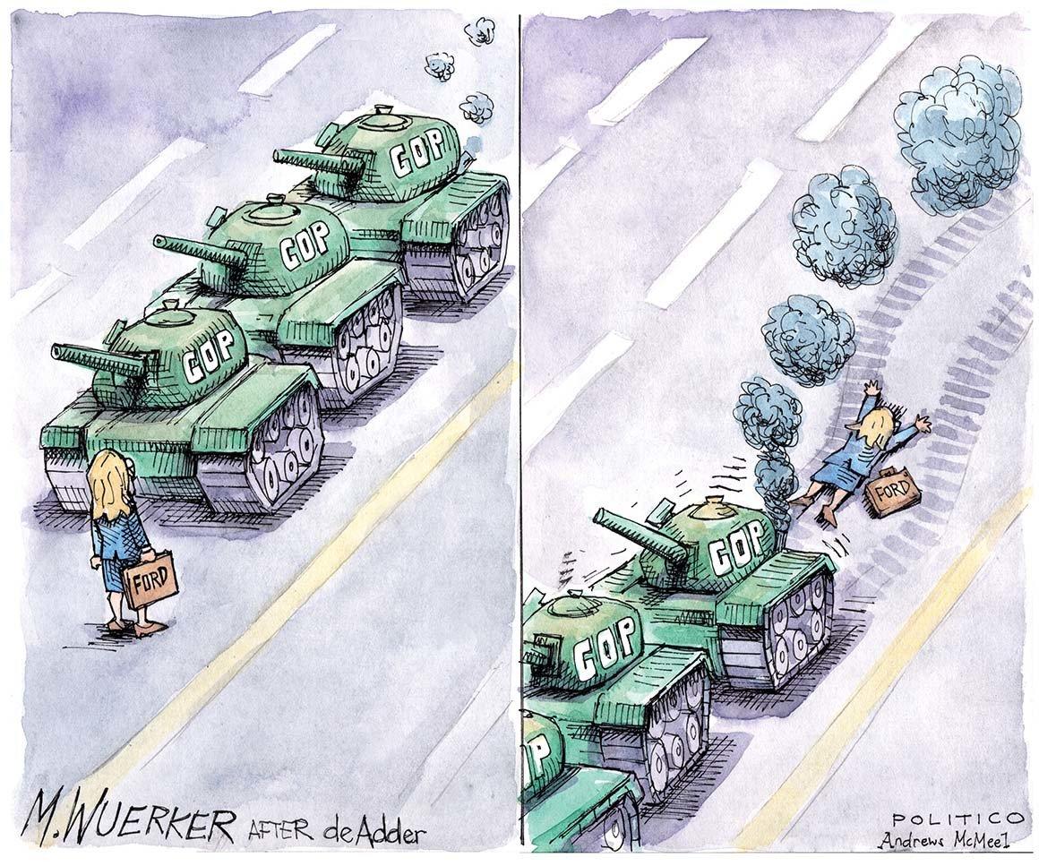 The latest from the desk of political cartoonist Matt Wuerker. �� See more �� https://t.co/xR1drKACnS https://t.co/AnShAqQsGa