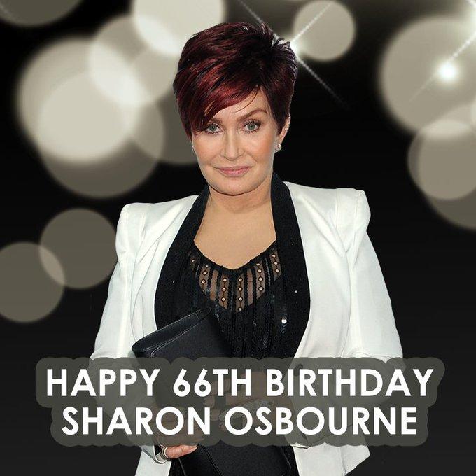 Happy birthday to television host, Sharon Osbourne.