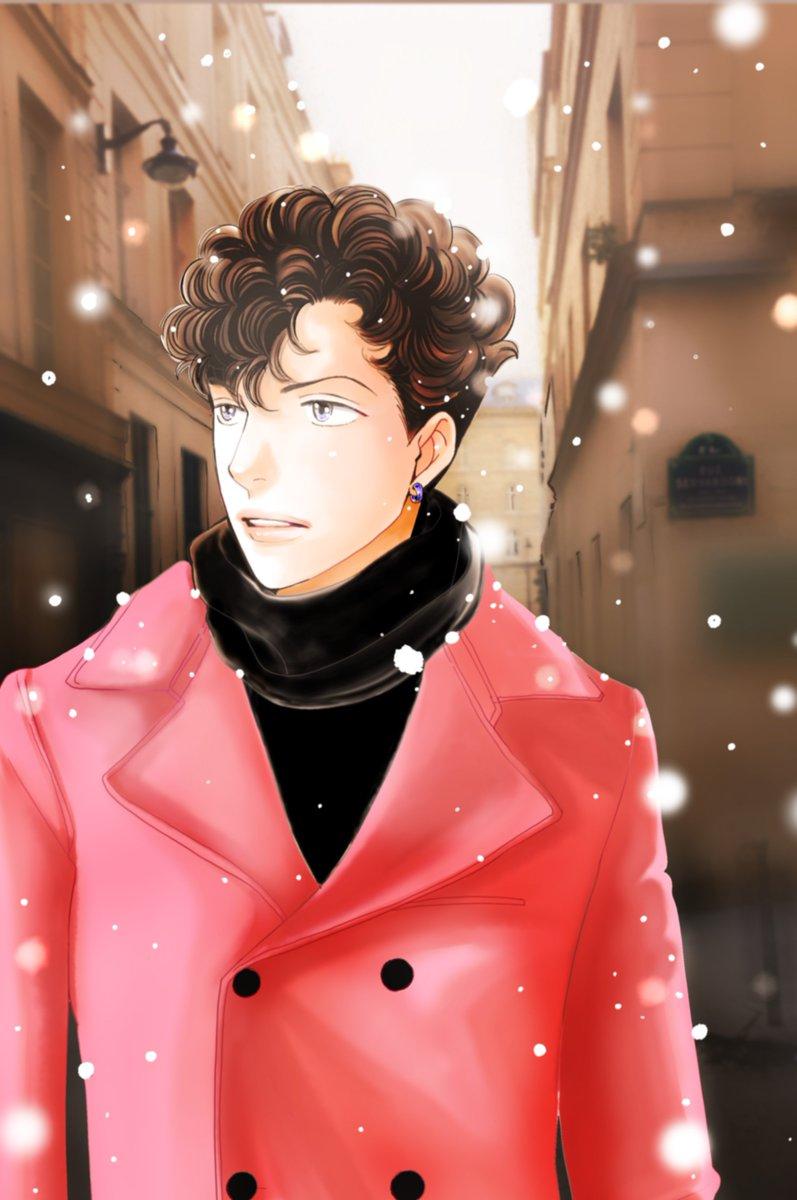 神尾葉子 On Twitter 道明寺とつくしのイラストに沢山のリプやいいねを