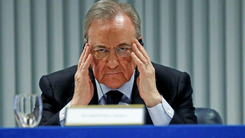 Florentino Pérez, director de la constructora española ACS y presidente del Real Madrid