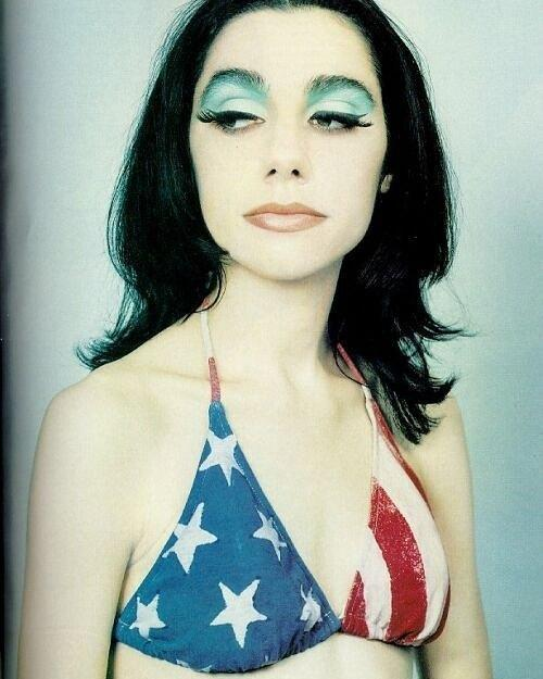 Happy birthday PJ Harvey! The celebrated British singer, writer, artist, poet and actress turns 48 today.