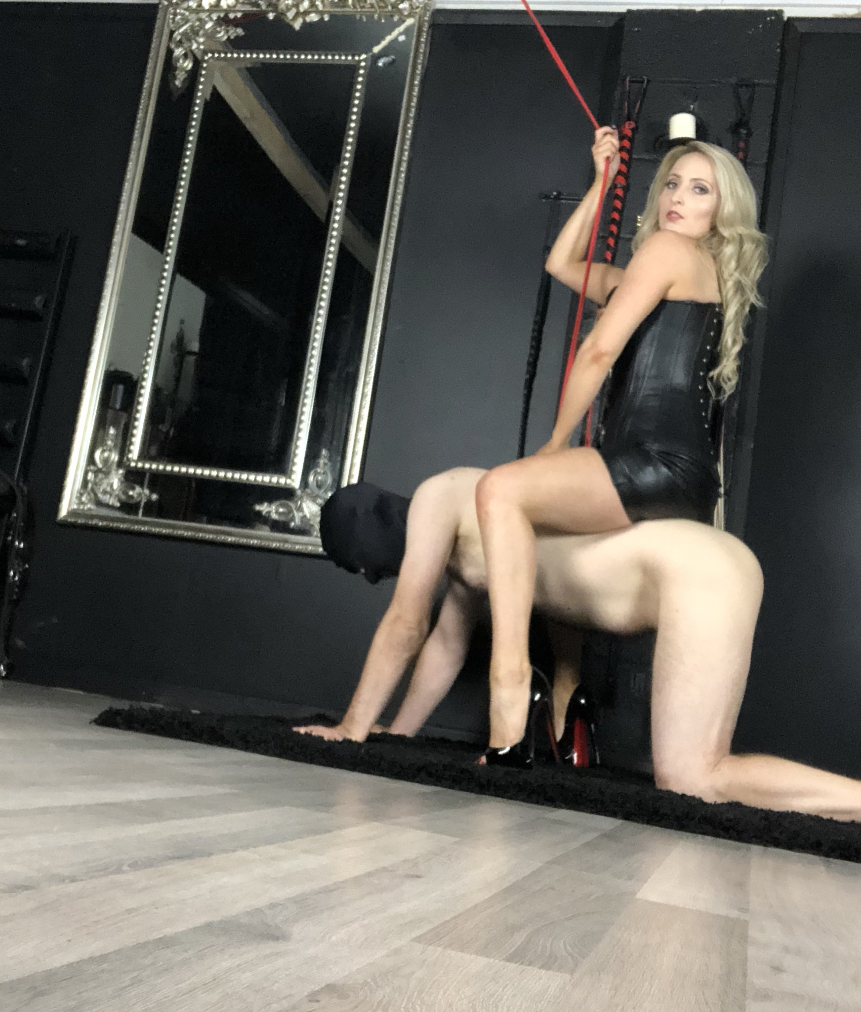Mistress Courtney 💋 on Twitter: Filming with My owned boy