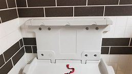 How often do you see changing tables in the men's bathrooms? #parenting #fatherhood #dads