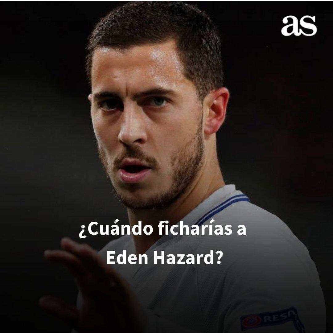 ¿Cuándo crees que debe fichar el Real Madrid a Hazard?  🔁 Mercado de invierno. 💟 Mercado de verano. http://ow.ly/qc3T50jmHuO