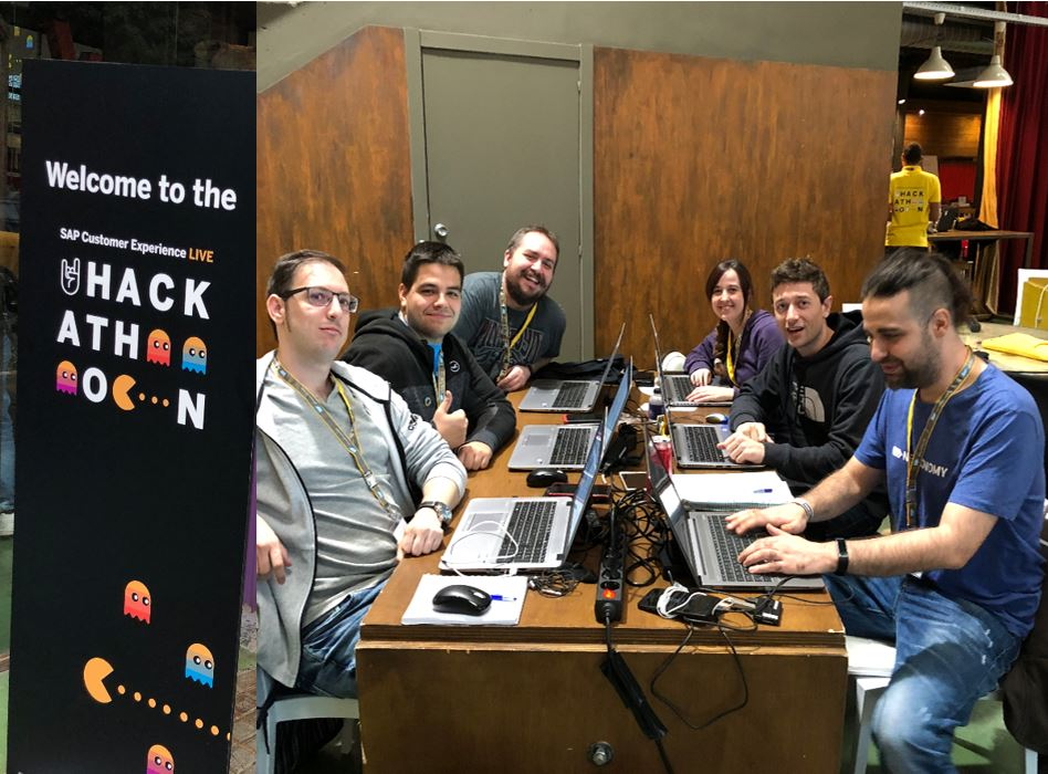 Ready for the challenge! @SAP_CX #SAPCXLive #hackathon  24 Hours of Coding with Purpose. #DreamTeam<br>http://pic.twitter.com/EAkzgqm66I
