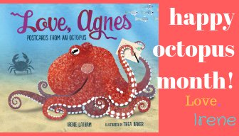 Image result for love agnes postcards from an octopus